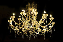 Crystal Lamp.Glass Chandelier...