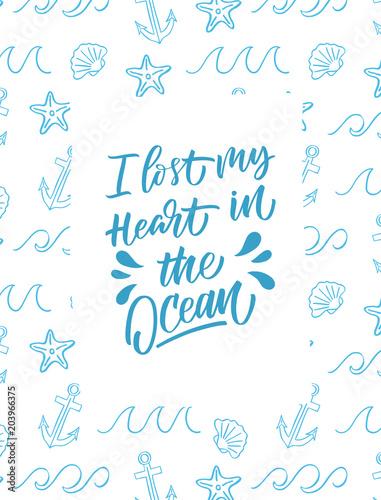 i-lost-my-heart-in-the-ocean-inskrypcja-letnia-karta-z-pozdrowieniami