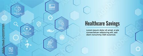 Photo  Medical Tax Savings Web Header Banner- Health savings account or flexible spendi