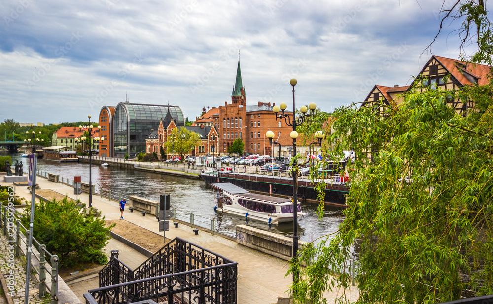 Fototapety, obrazy: Stare miasto w Bydgoszczy