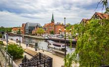 Old Town In Bydgoszcz. Poland