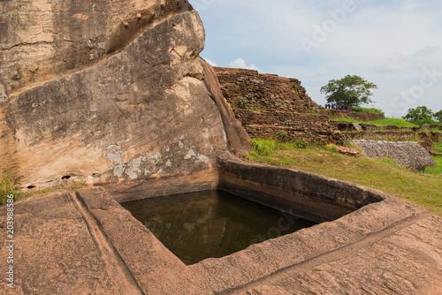 Foto op Canvas Sigiriya Lion Rock Fortress in Sri Lanka