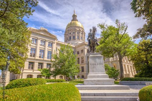 Plakat Kapitol stanu Georgia
