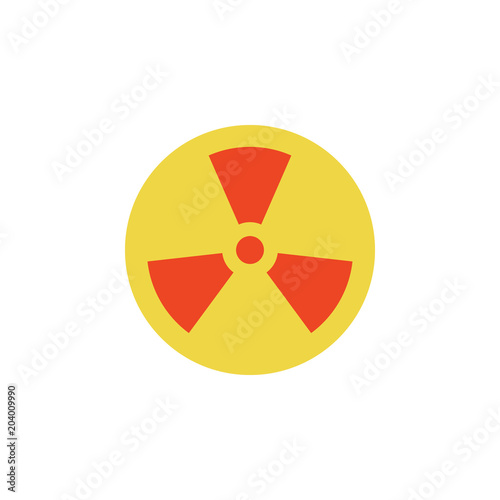 Colored Sign Of Radiation Icon Element Of Science And Laboratory