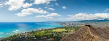 Honolulu From Diamond Head