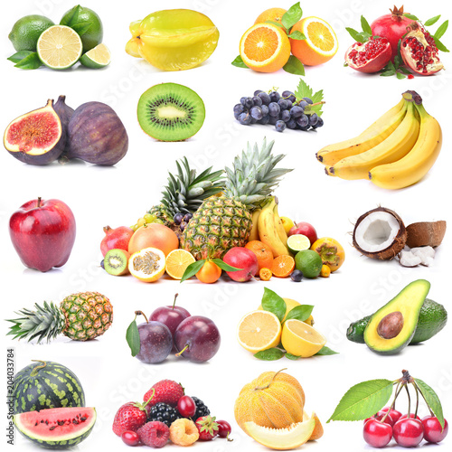Keuken foto achterwand Vruchten Fresh fruit