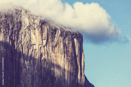 Foto op Aluminium Aubergine Yosemite