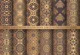Golden Arabesque Patterns