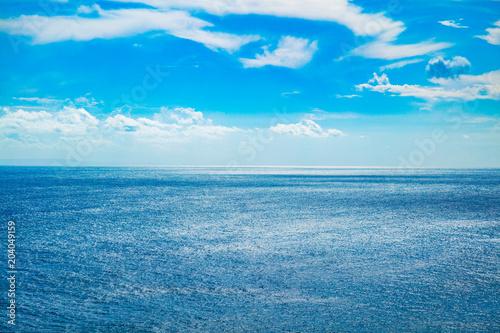 Staande foto Zee / Oceaan Exotic blue tropical ocean / sea tropical scenery.