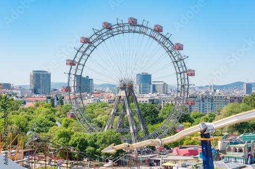 Ferris Wheel in the Prater in Vienna - Riesenrad