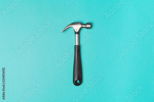 Cuadros en Lienzo hammer on color background