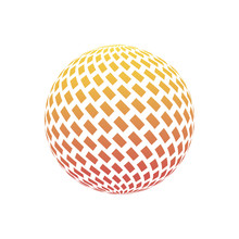 Logo Design. Round Shape. Vect...