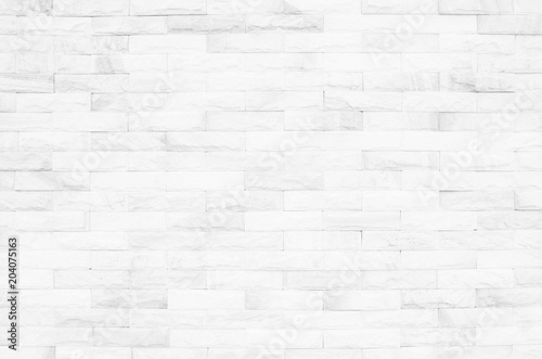 Cream And White Brick Wall Texture Background Brickwork Or Stonework Flooring Interior Rock Old Pattern Clean Concrete Grid Uneven Bricks Design Stack