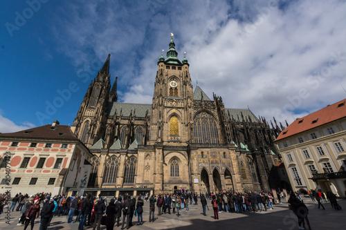 Fotografie, Obraz  Prag Veitsdom