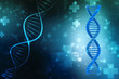 3d render of dna structure, Medical abstract background