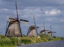 Windmills In Kinderdijk, UNESC...