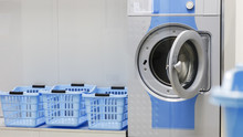 Washing Machine And Laundry Ba...