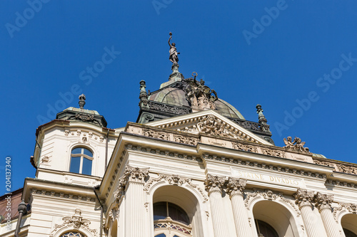 Foto op Canvas Theater The Opera Theatre in Kosice, Slovakia.