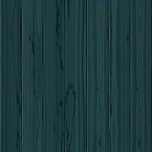 Realistic Wooden Planked Indigo Teal Blue Toned Colored Seamless Design