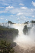 Iguazu Water Falls at the border of Brasil and Argentina