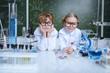 tired children scientists
