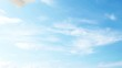 4K Animation of Airplane Takes Off from the Airport against Blu Sky with Clouds