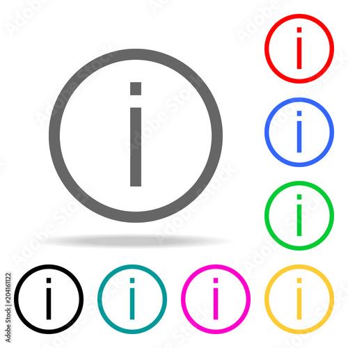 exclamation icons. Elements of human web colored icons. Premium quality graphic design icon. Simple icon for websites, web design, mobile app, info graphics