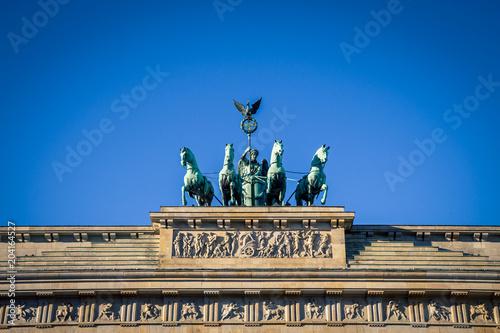 Foto op Canvas Historisch mon. Brandenburg Gate in Berlin