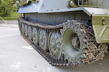 Caterpillar Of An Armored Pers...