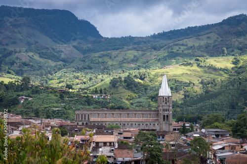 Foto op Canvas Zuid-Amerika land Village de Jardín, Antioquia, Colombie