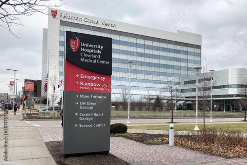 Medical complex, including University Hospitals Cleveland