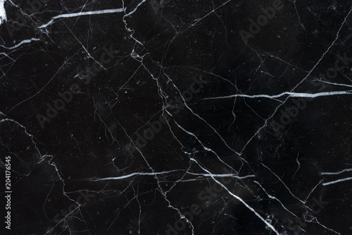 Leinwand Poster  black marquina marble texture background