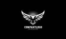Bird Fly Logo - Eagle Wing Vector