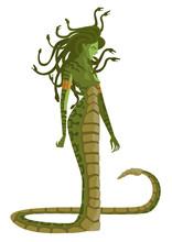 Gorgon Medusa Monster
