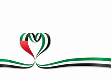 United Arab Emirates Flag Hear...