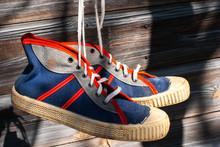 Vintage Sport Shoes, Top View....