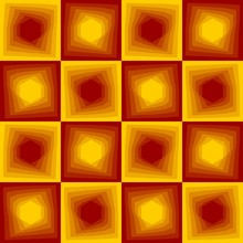 Red And Yellow Abstract Backgr...