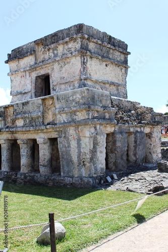 Staande foto Oude gebouw Mexico