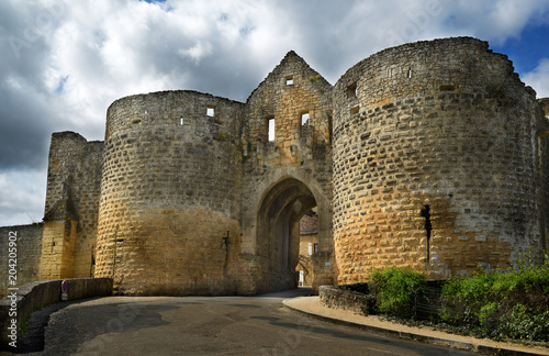 Fotografiet  Porte des Tours gate.