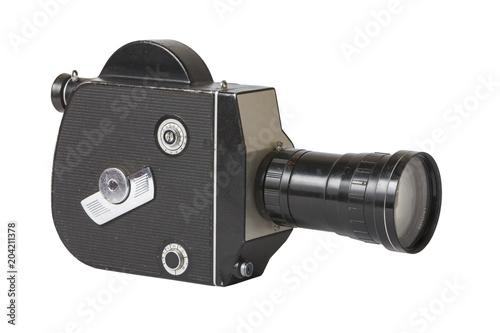 stara-kamera-filmowa-na-bialym-tle-vintage
