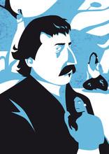 Paul Gauguin Vector Illustration