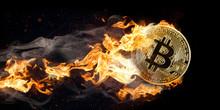 Fyling Burning Bitcoin