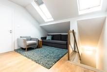 Relax Corner Of Attic Interior