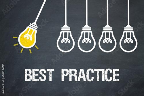 Fototapeta Best Practice