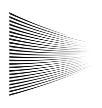 Horizontal Motion Speed Lines ...