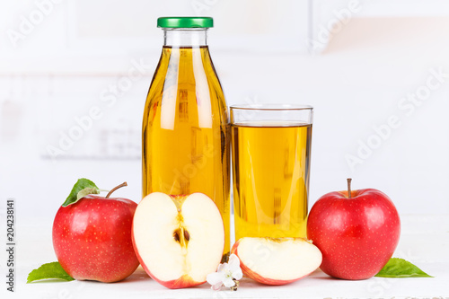Papiers peints Secheresse Apfelsaft Apfel Saft Äpfel Flasche Fruchtsaft Textfreiraum Copyspace