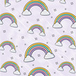 background of rainbows pattern, colorful design. vector illustration