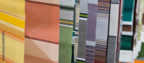 Multicolor tone of fabric sample Canvas-taulu