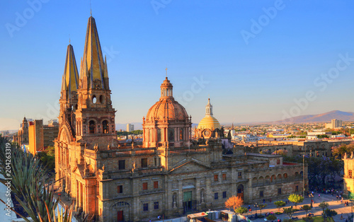 Fotografia  Guadalajara Cathedral (Cathedral of the Assumption of Our Lady), Mexico