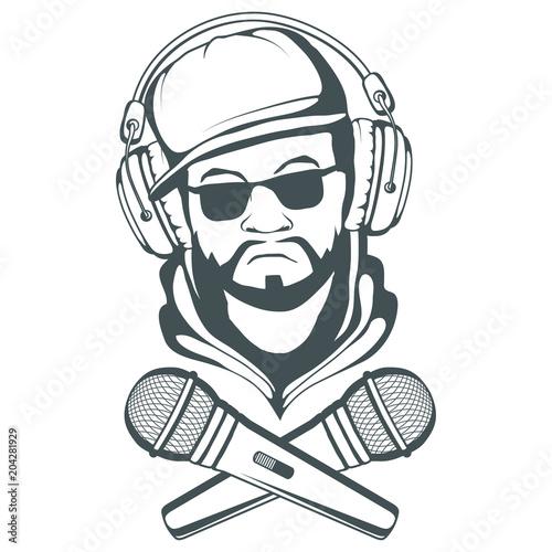 Photo  Rap music logo